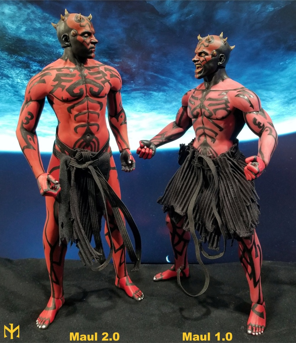 STAR WARS Updated Darth Maul Custom Part IV Maul 2.0 (photo heavy) Swdmt223