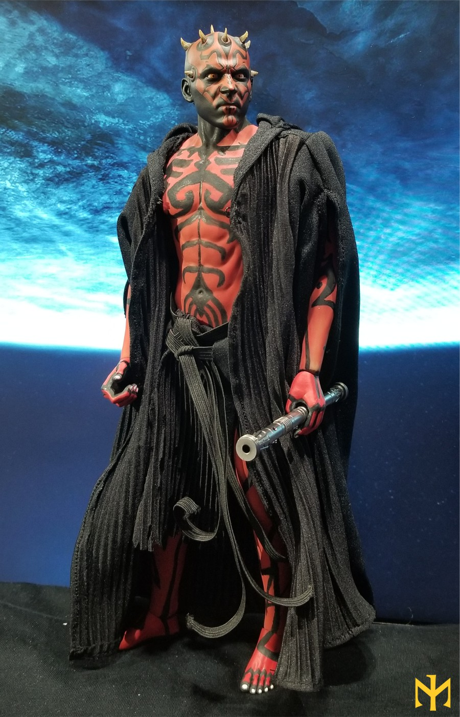 STAR WARS Updated Darth Maul Custom Part IV Maul 2.0 (photo heavy) Swdmt225