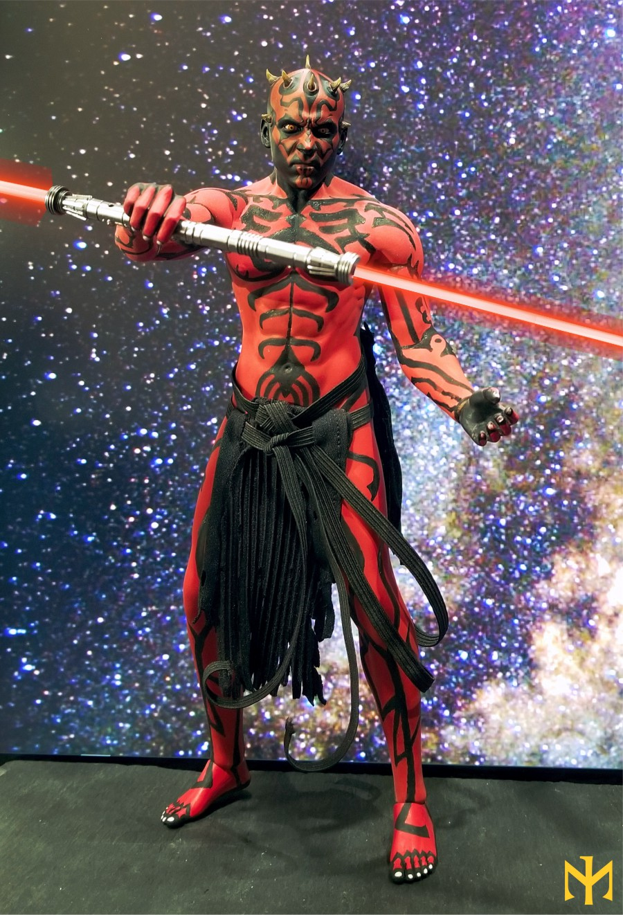 STAR WARS Updated Darth Maul Custom Part IV Maul 2.0 (photo heavy) Swdmt226