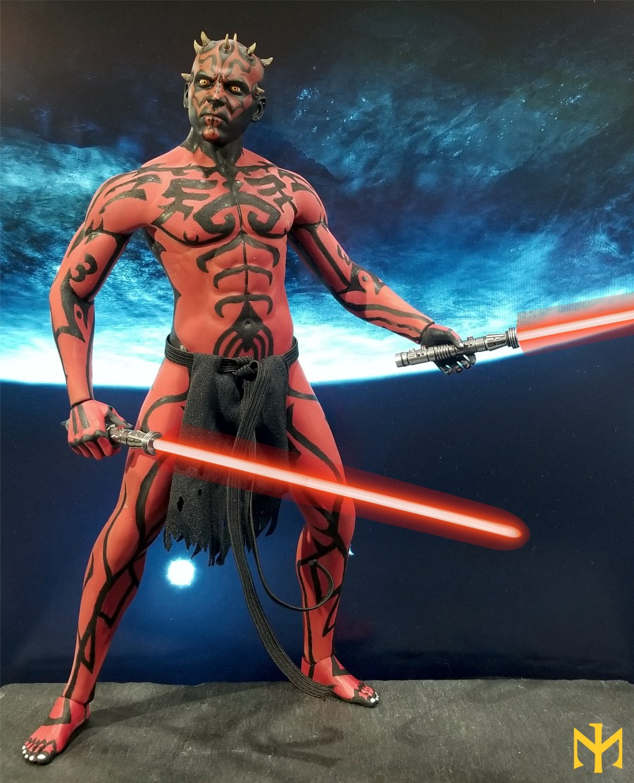STAR WARS Updated Darth Maul Custom Part IV Maul 2.0 (photo heavy) Swdmt227