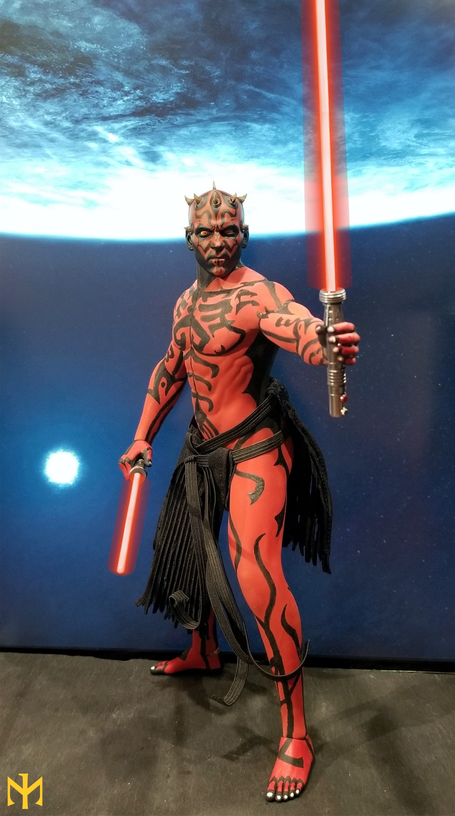 STAR WARS Updated Darth Maul Custom Part IV Maul 2.0 (photo heavy) Swdmt228