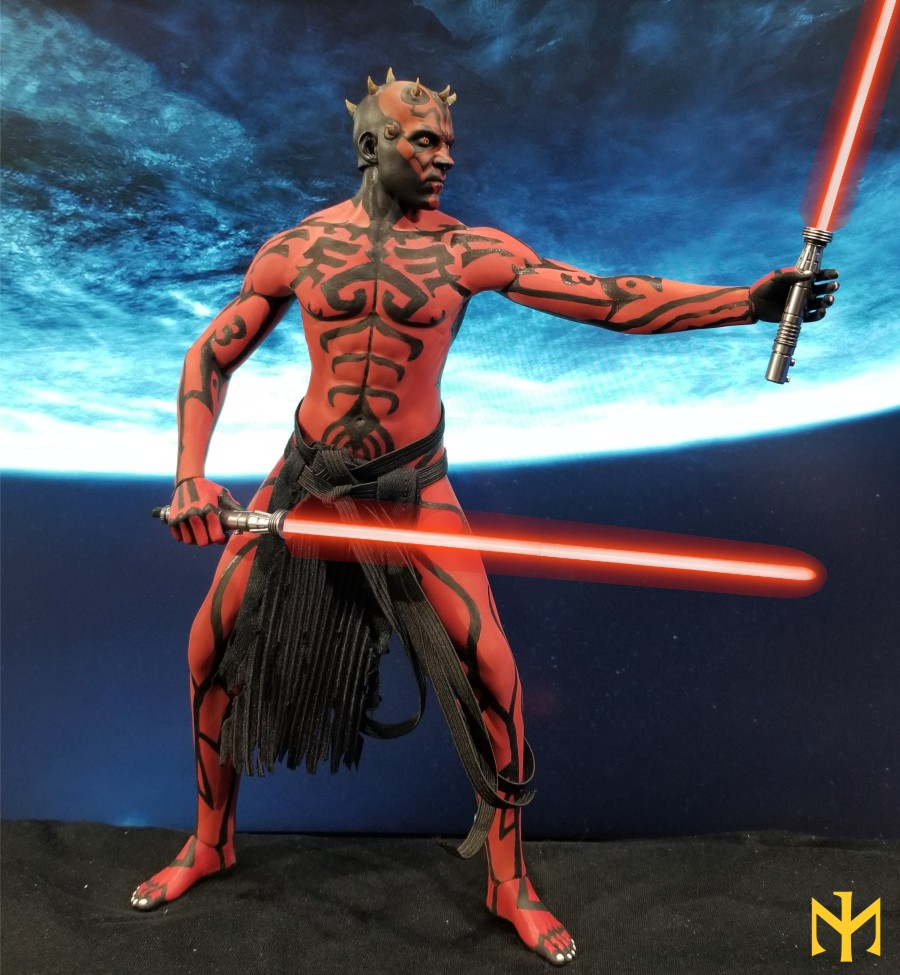 STAR WARS Updated Darth Maul Custom Part IV Maul 2.0 (photo heavy) Swdmt229