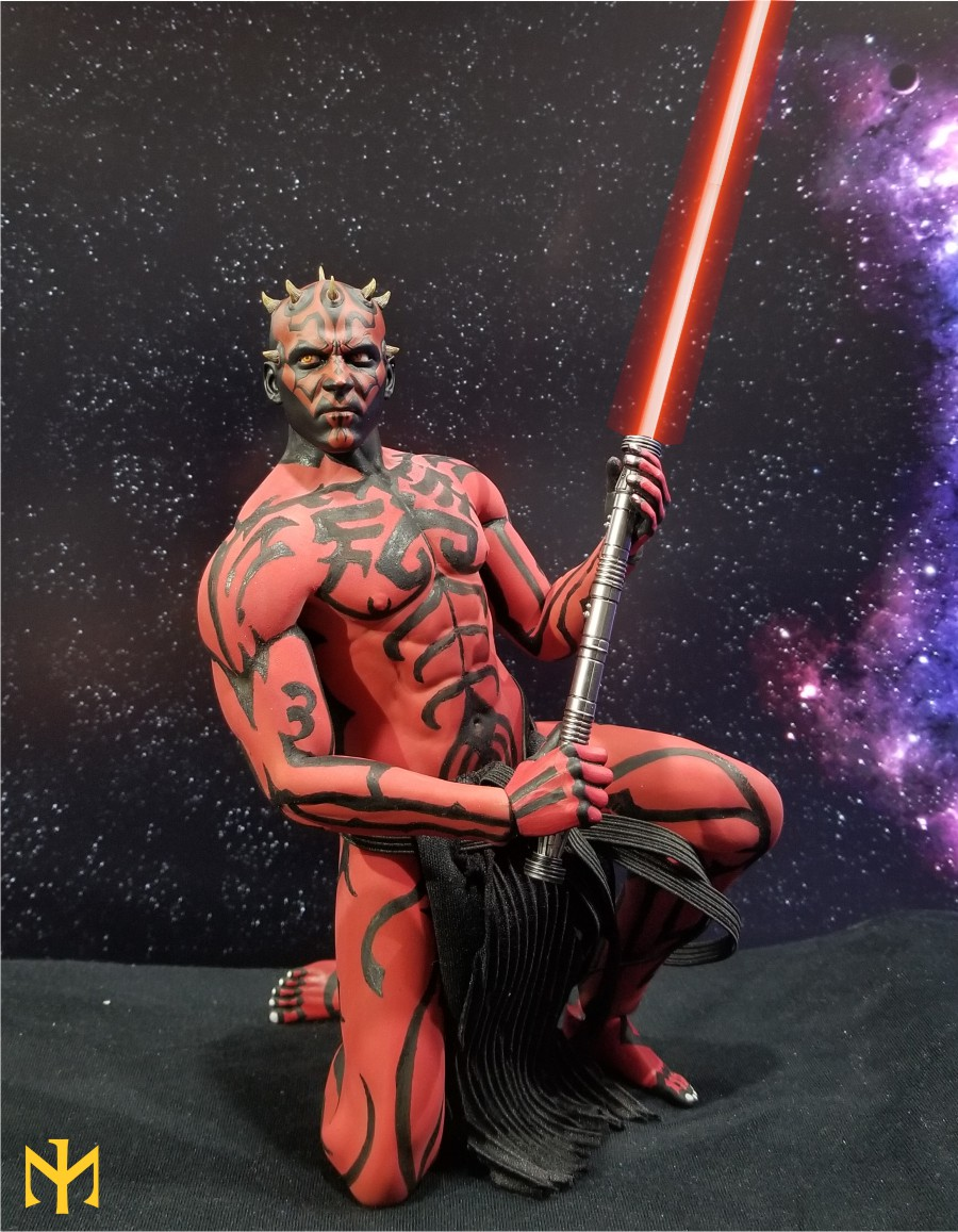 phicen - STAR WARS Updated Darth Maul Custom Part IV Maul 2.0 (photo heavy) Swdmt230