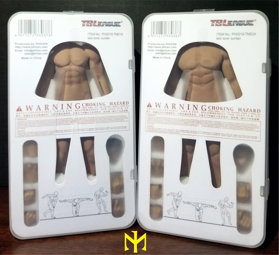 TBLeague (Phicen) 1:12 seamless male bodies review (updated) Tbl6m012