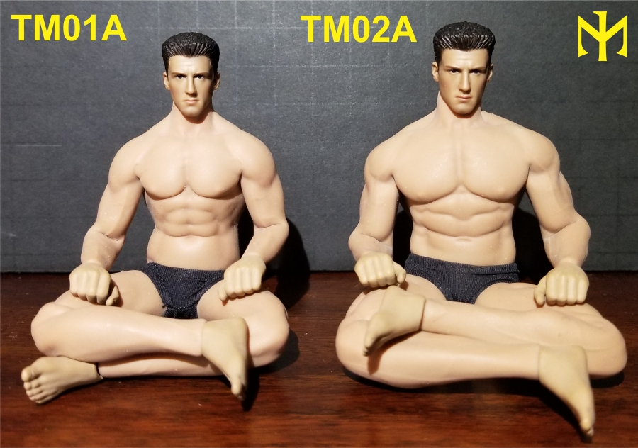 TBLeague (Phicen) 1:12 seamless male bodies review (updated) Tbl6m015