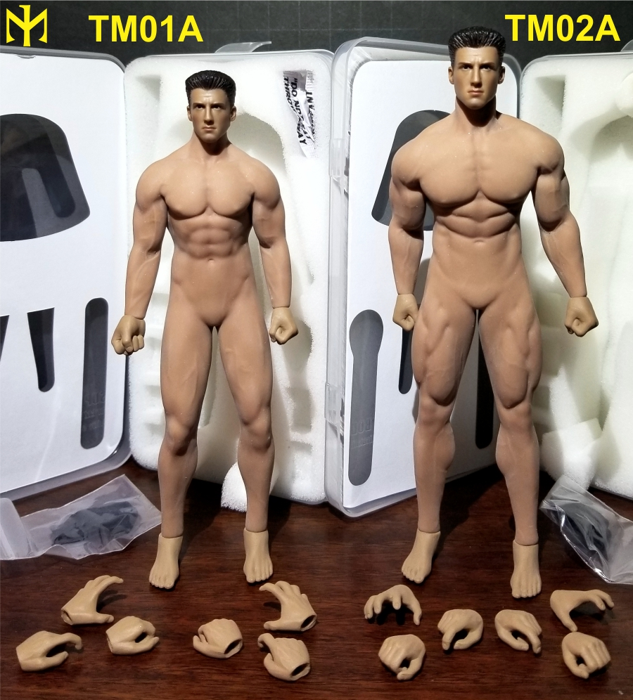 TBLeague (Phicen) 1:12 seamless male bodies review (updated) Tbl6m016