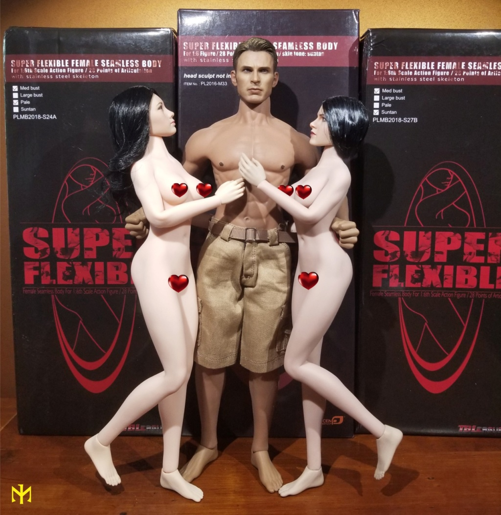 TBLeague Super Flexible Female Seamless Bodies S24A-S27B Tbleag11