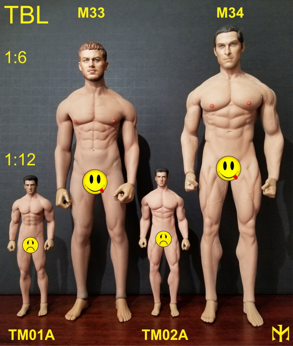 female - TBLeague (Phicen) seamless body scale comparison (updated with Part III) Tblmbs10