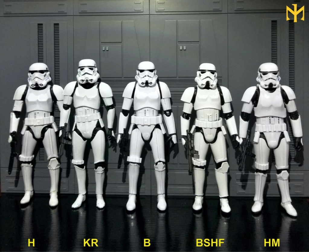 STAR WARS New and Old Twelfth-Scale Stormtroopers comparison Tsstor11