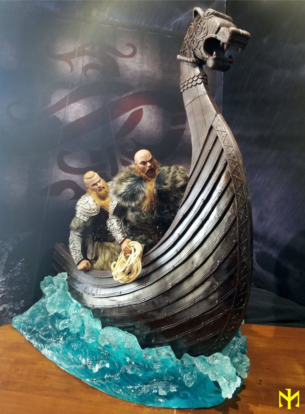 Vikings Vanquisher Viking Ship Diorama Coomodel Review Viking31