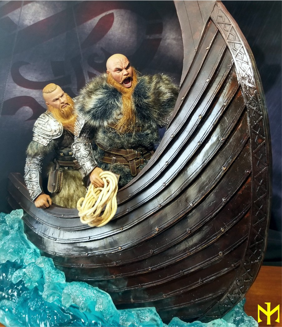vikings - Vikings Vanquisher Viking Ship Diorama Coomodel Review Viking35