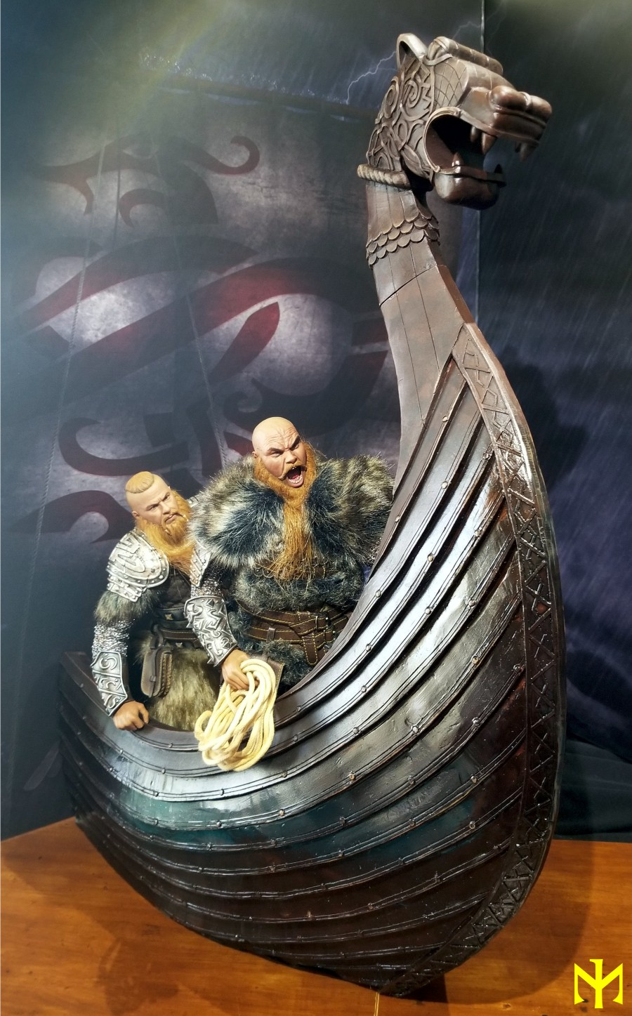 vikings - Vikings Vanquisher Viking Ship Diorama Coomodel Review Viking37