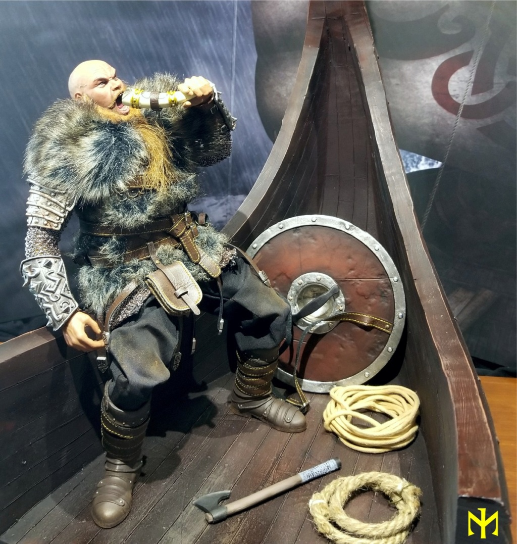 Vikings Vanquisher Viking Ship Diorama Coomodel Review Viking38