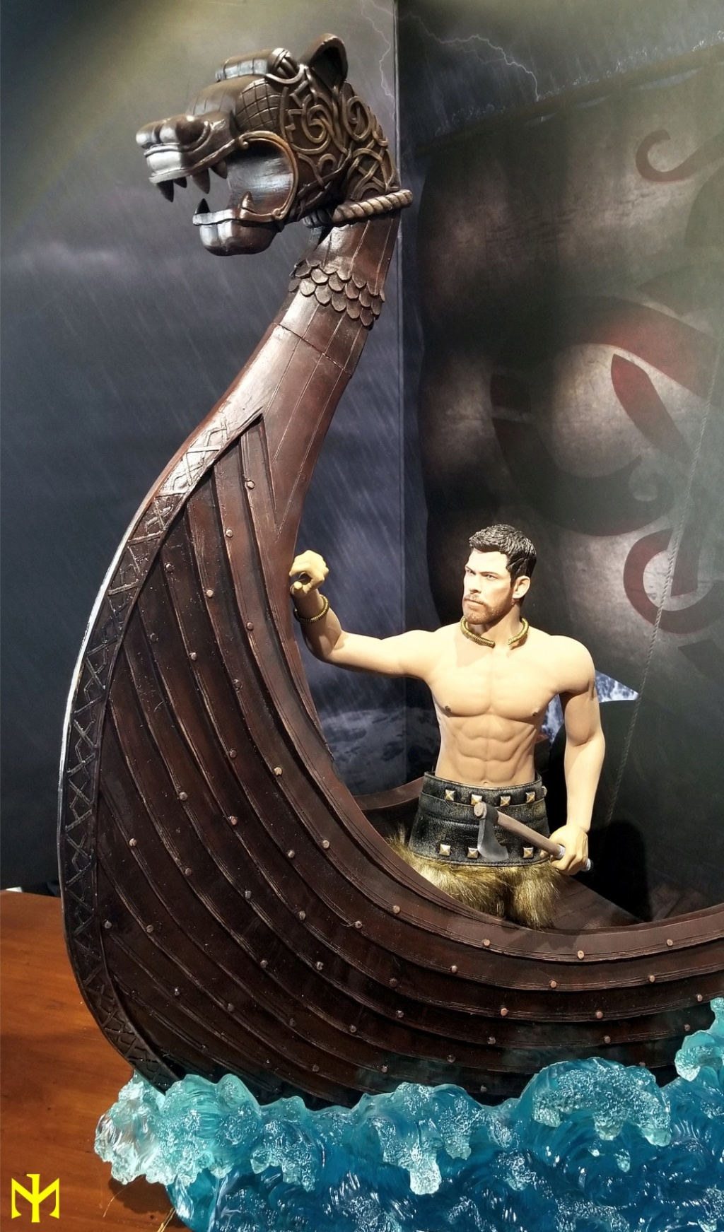 vikings - Vikings Vanquisher Viking Ship Diorama Coomodel Review Viking39