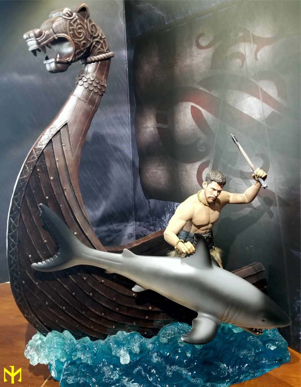 vikings - Vikings Vanquisher Viking Ship Diorama Coomodel Review Viking40