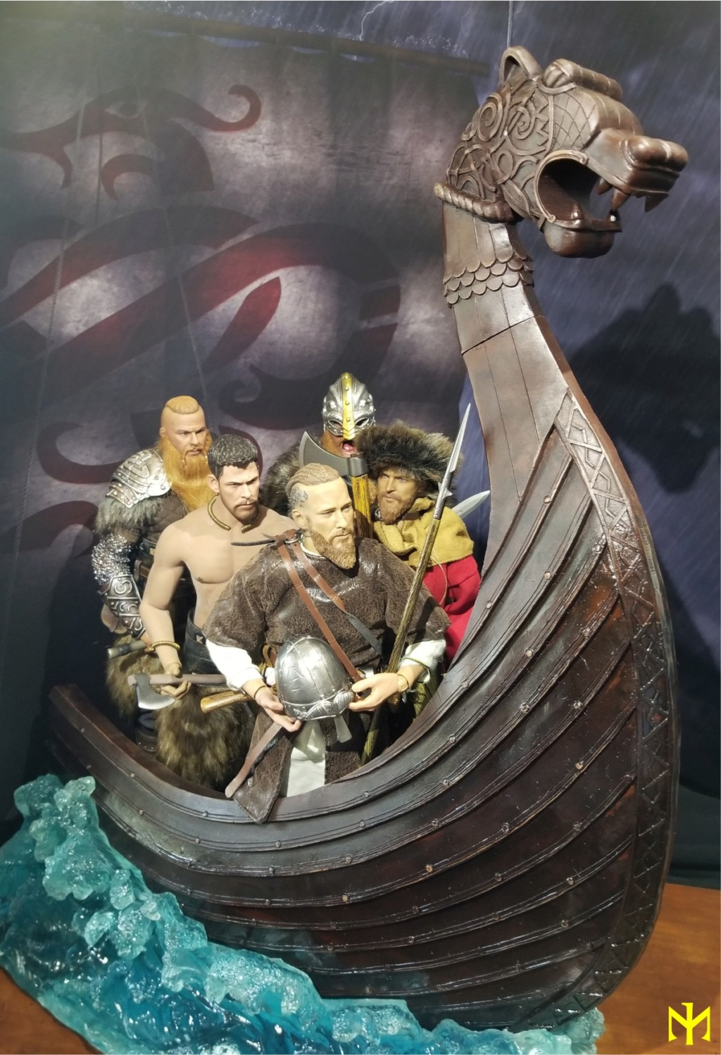 vikings - Vikings Vanquisher Viking Ship Diorama Coomodel Review Viking41