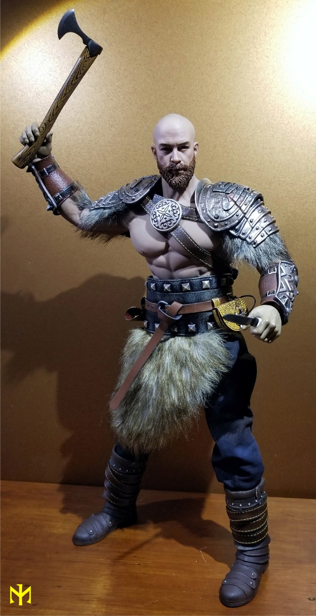Conanesque: A Fantasy Warrior Kitbash (update 5: February 2020) Viking46