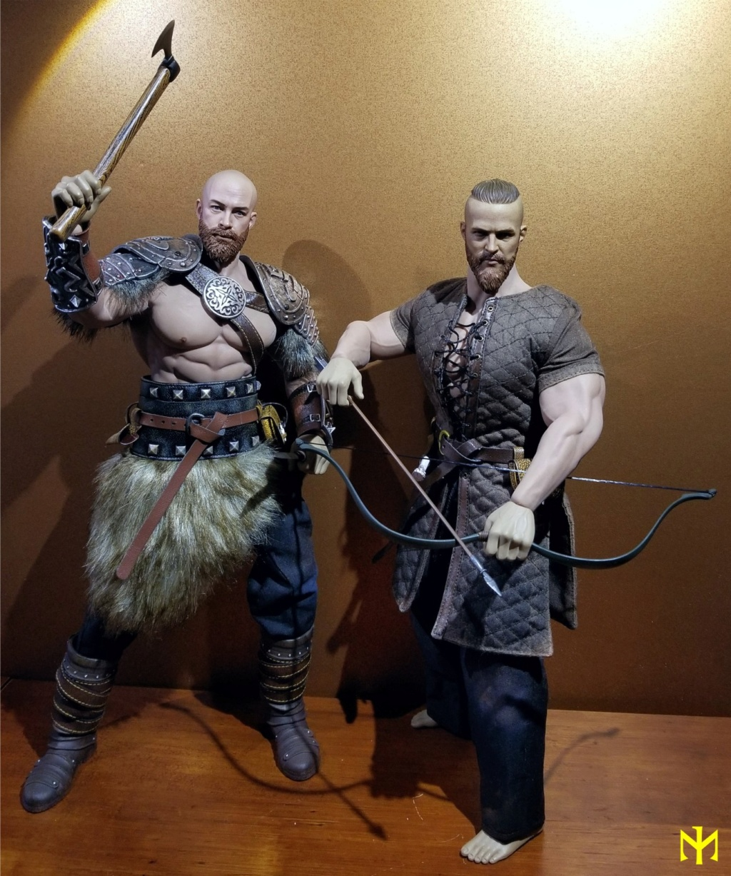 Conanesque: A Fantasy Warrior Kitbash (update 5: February 2020) Viking47