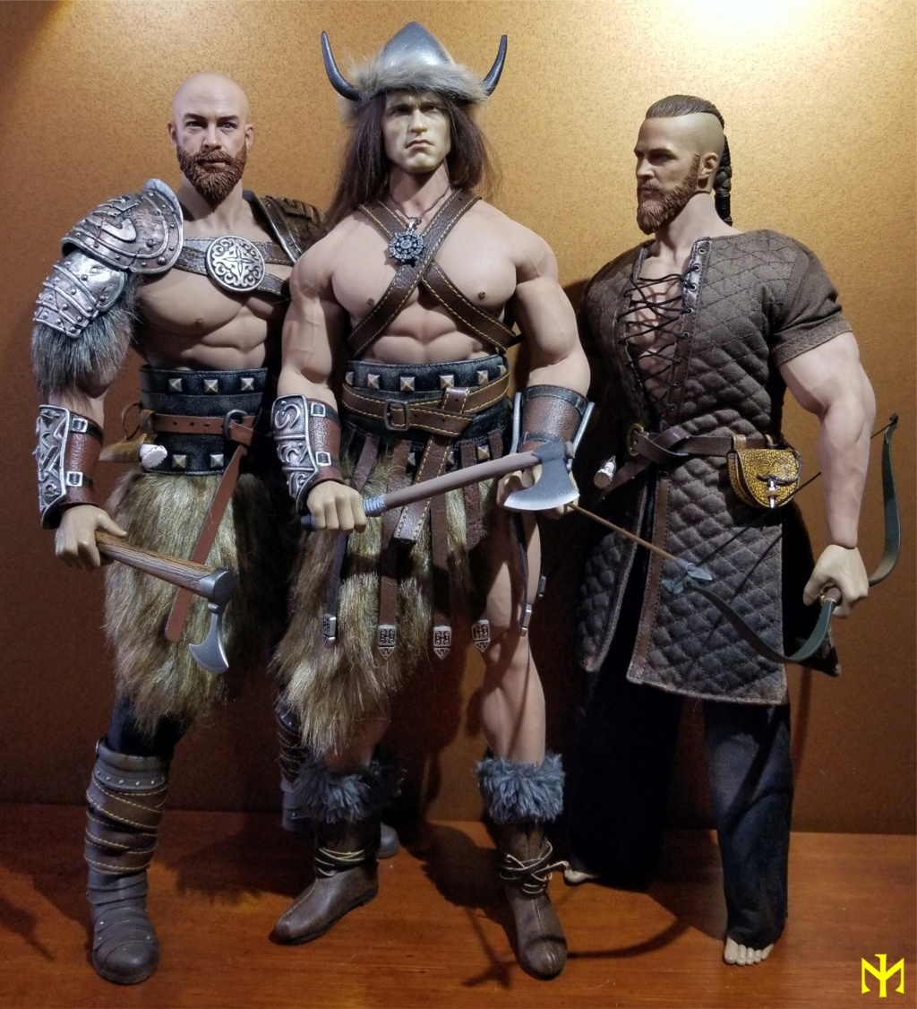 Conanesque: A Fantasy Warrior Kitbash (update 5: February 2020) Viking48