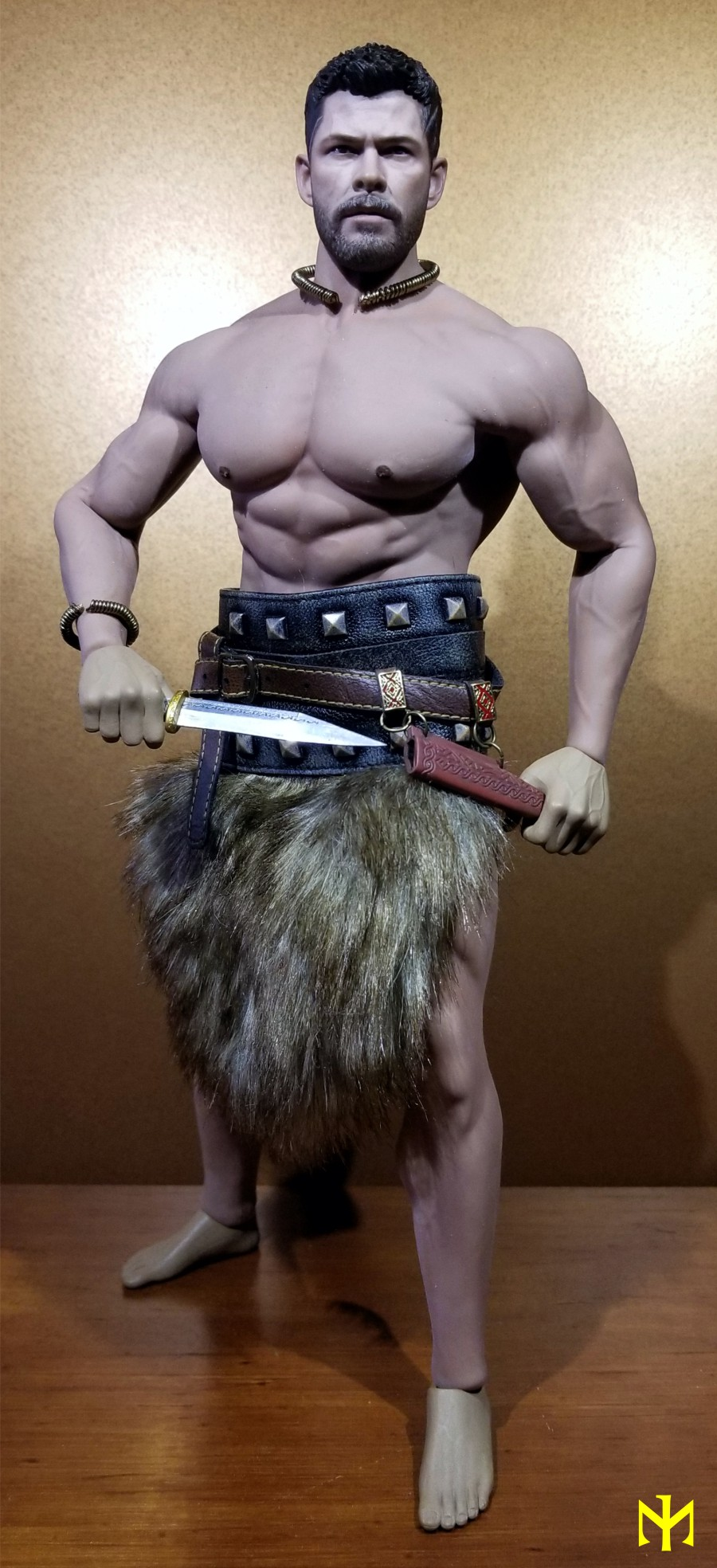 Conanesque: A Fantasy Warrior Kitbash (update 5: February 2020) Viking51