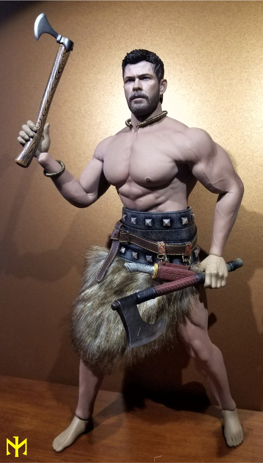 Conanesque: A Fantasy Warrior Kitbash (update 5: February 2020) Viking53