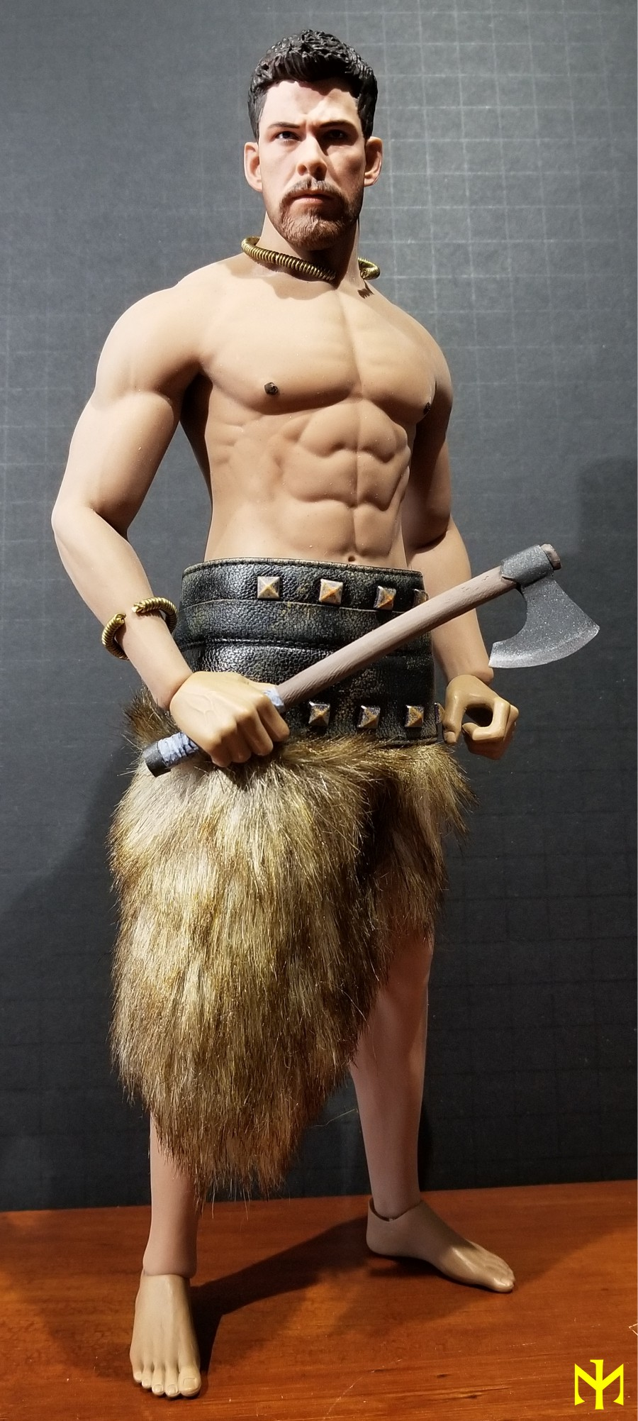 Conanesque: A Fantasy Warrior Kitbash (update 5: February 2020) Viking54