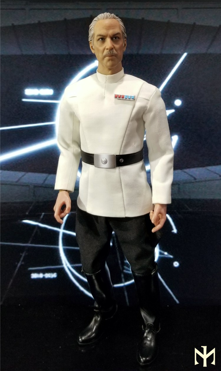 Kitbash - STAR WARS Custom Colonel Yularen from A New Hope Yulare10