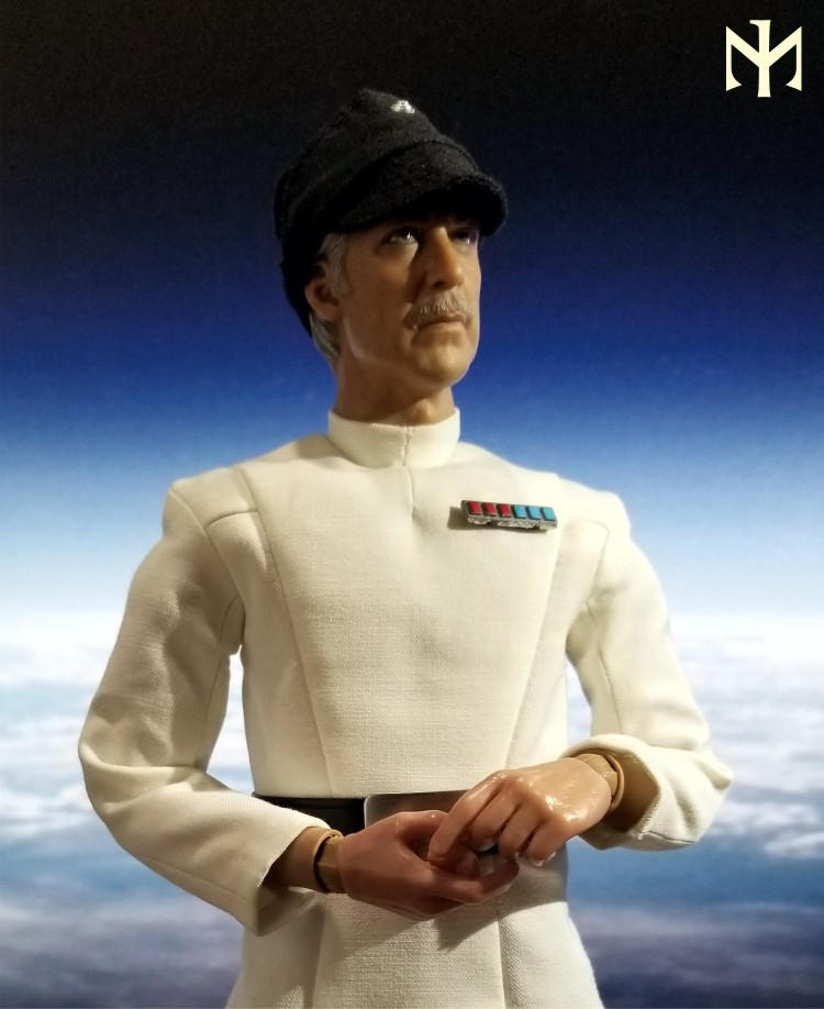 yularen - STAR WARS Custom Colonel Yularen from A New Hope Yulare13