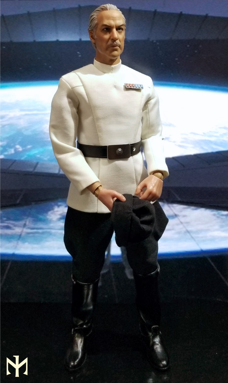 Kitbash - STAR WARS Custom Colonel Yularen from A New Hope Yulare15