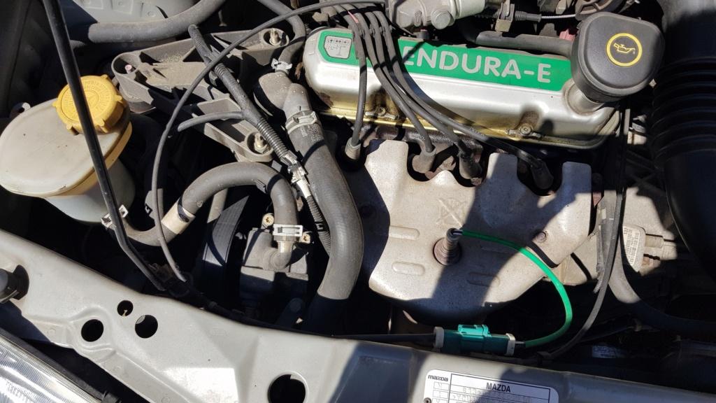 [ Mazda III 121 1.0 ess 60cv an 2001 ] Fuite liquide de refroidissement 20200611