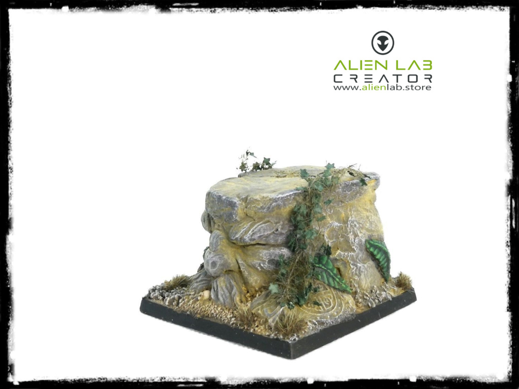 Alien Lab Creator - Dwarf Kingdom Square Base 50mm 111110