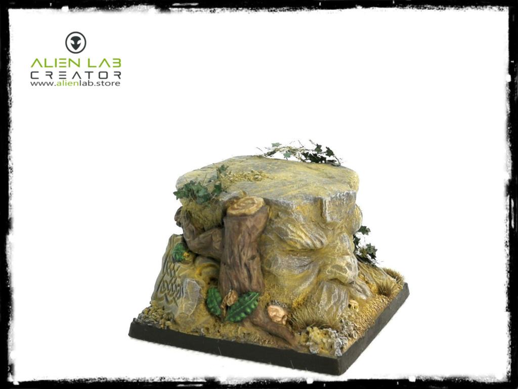Alien Lab Creator - Dwarf Kingdom Square Base 50mm 2222210