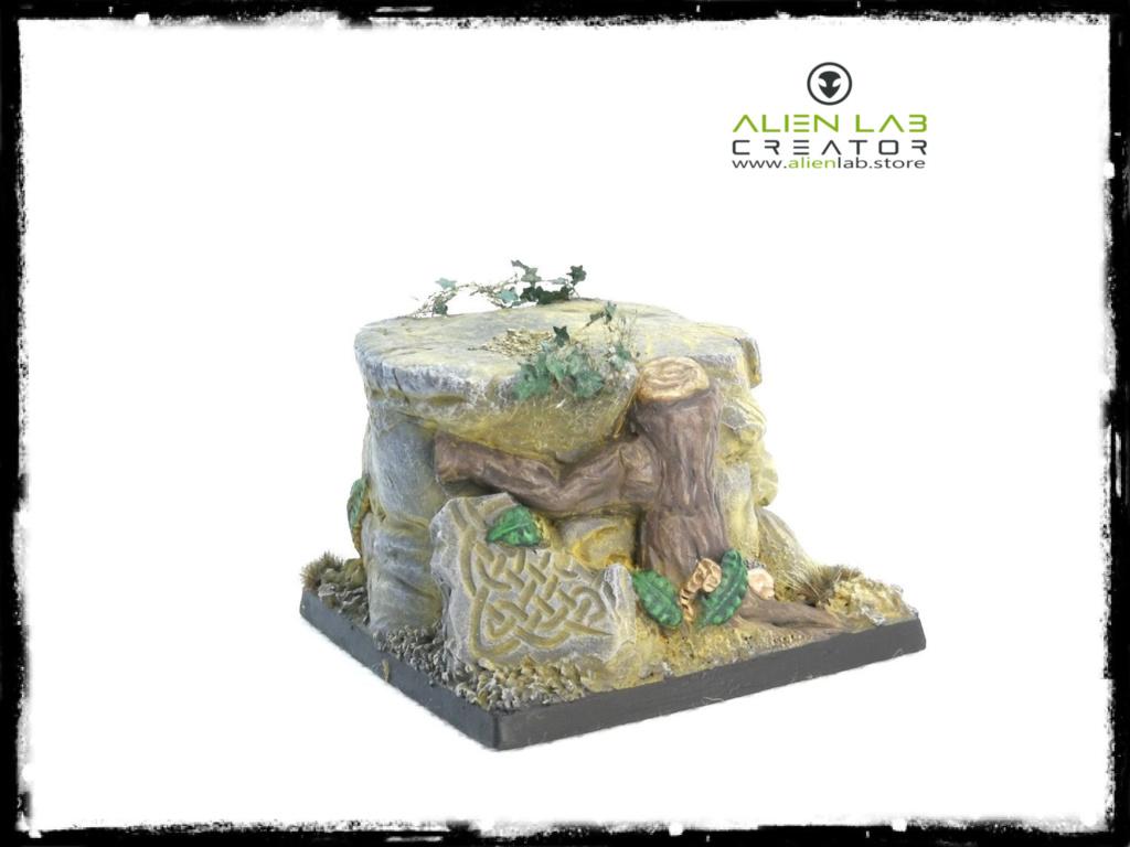 Alien Lab Creator - Dwarf Kingdom Square Base 50mm 3333310