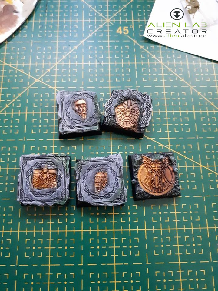 New bases of dwarves - 20mm 43134810