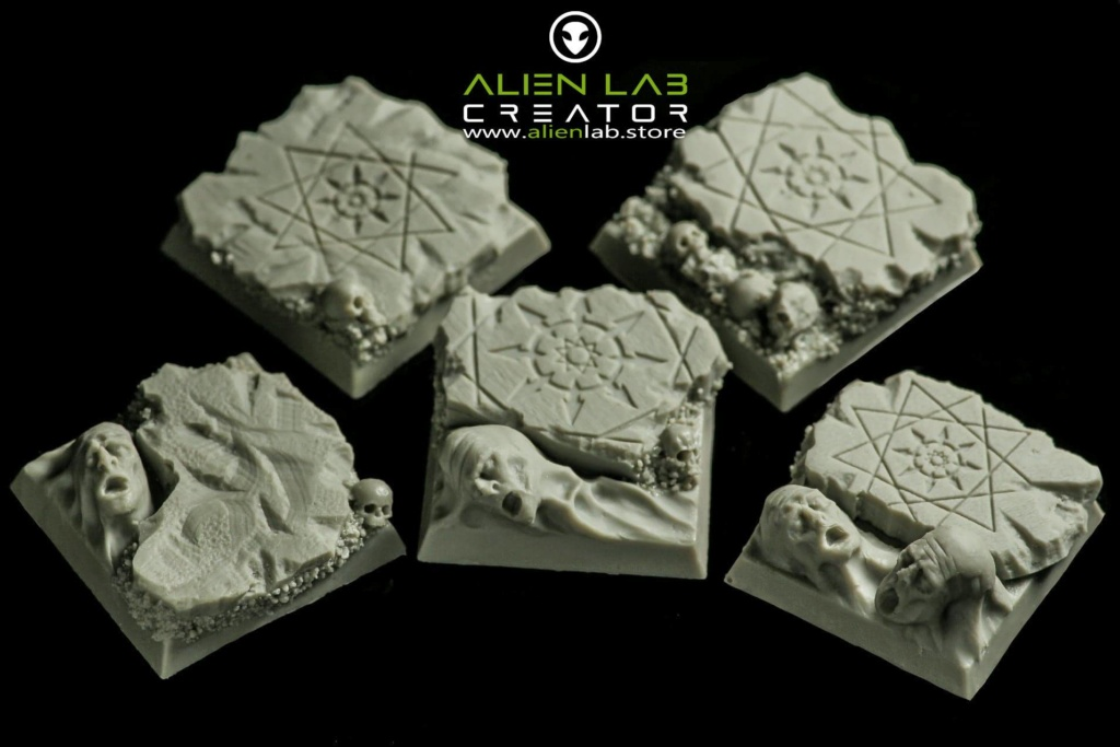 Hell Square Bases 25mm / 40mm / 50mm / 25mm x 50mm Produk13
