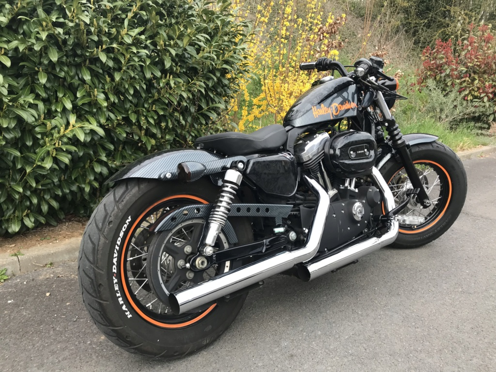 Harley Davidson 1200 Forty Eight d'Azerty59400 Img_3814