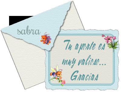 GRACIAS POR COMPARTIR... SABRA 6dd61610