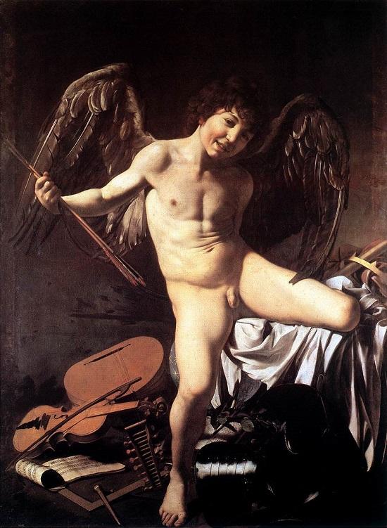 El amor victorioso-Caravaggio Amor_v10
