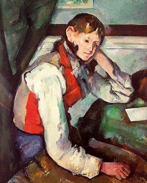 El Chico del Chaleco Rojo-Cézanne Descar11