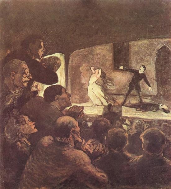 El melodrama- Daumier- Honorz10