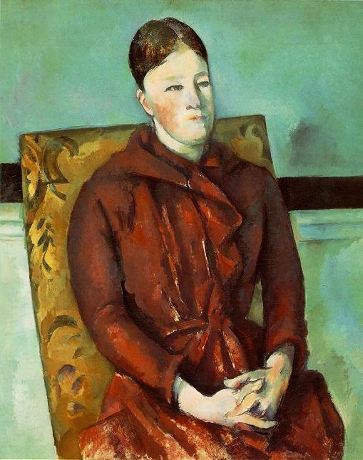 Madame Cézanne en sillón amarillo La_sez10