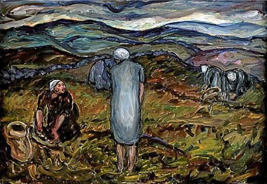 Las cosechadoras de arándanos-Dorothea Almqvist Lingon10