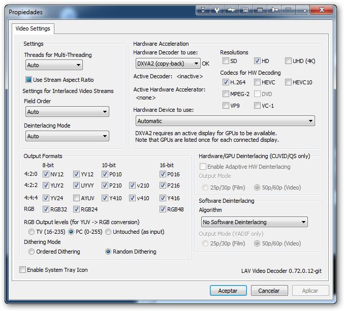 LAV makes MPC-HC freeze after a reboot Sshot-17