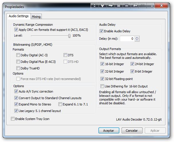 LAV makes MPC-HC freeze after a reboot Sshot-18