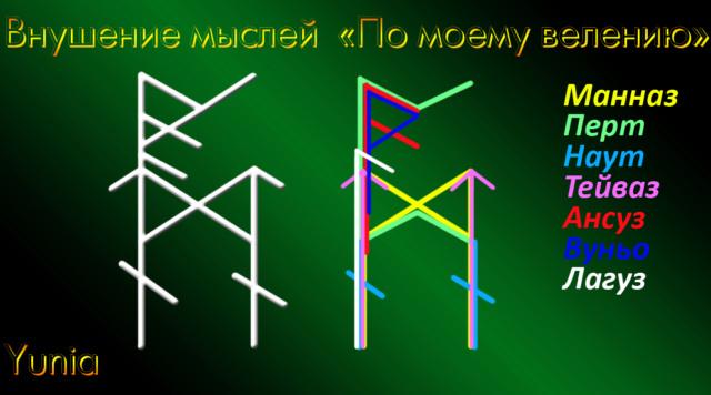 """Внушение мыслей """"По моему велению"""" (на ТЕСТ)Автор Yunia"""