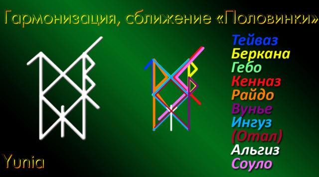 "Став ""Половинки""(гармонизация, сближение) Автор Yunia"