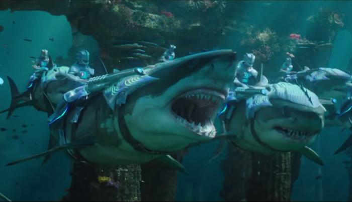 Pourparlers en Atlantis Aquama10