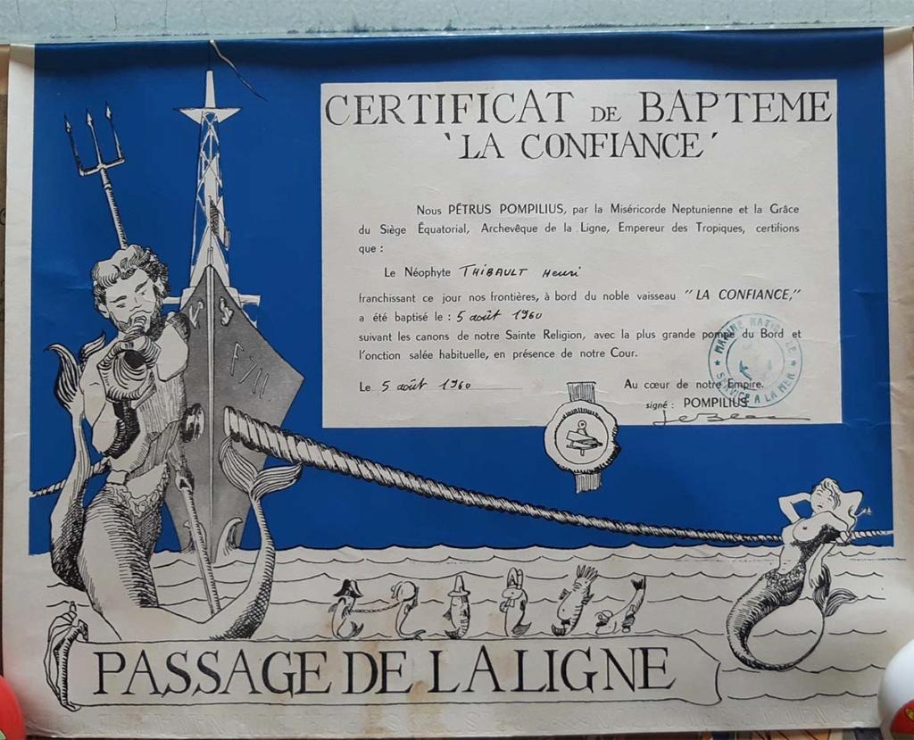 [ Les traditions dans la Marine ] LE PASSAGE DE LA LIGNE - ÉQUATEUR (Sujet unique) - Page 14 20200510