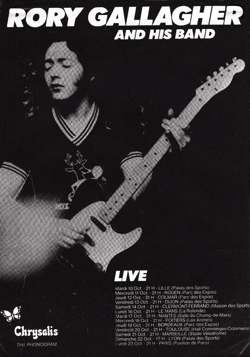 Rory Gallagher - The French Connection (RSD 2018) Rory6210