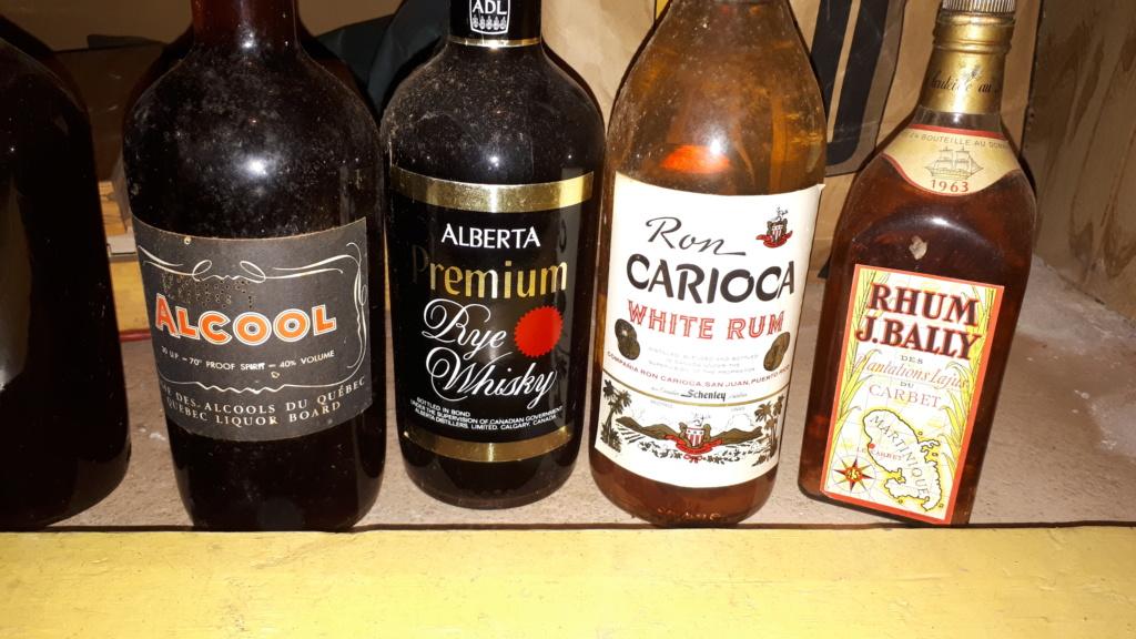 Anciennes bouteilles à vendre 20190311